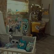 Guilli Gribouilli - L'atelier boutique à Dijon Création linge de lit pour bébé