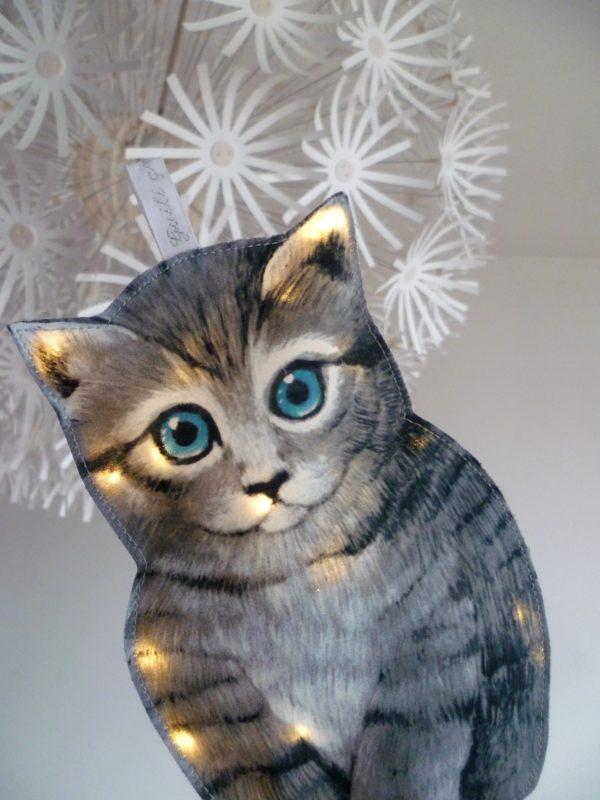 veilleuse chaton guili gribouilli
