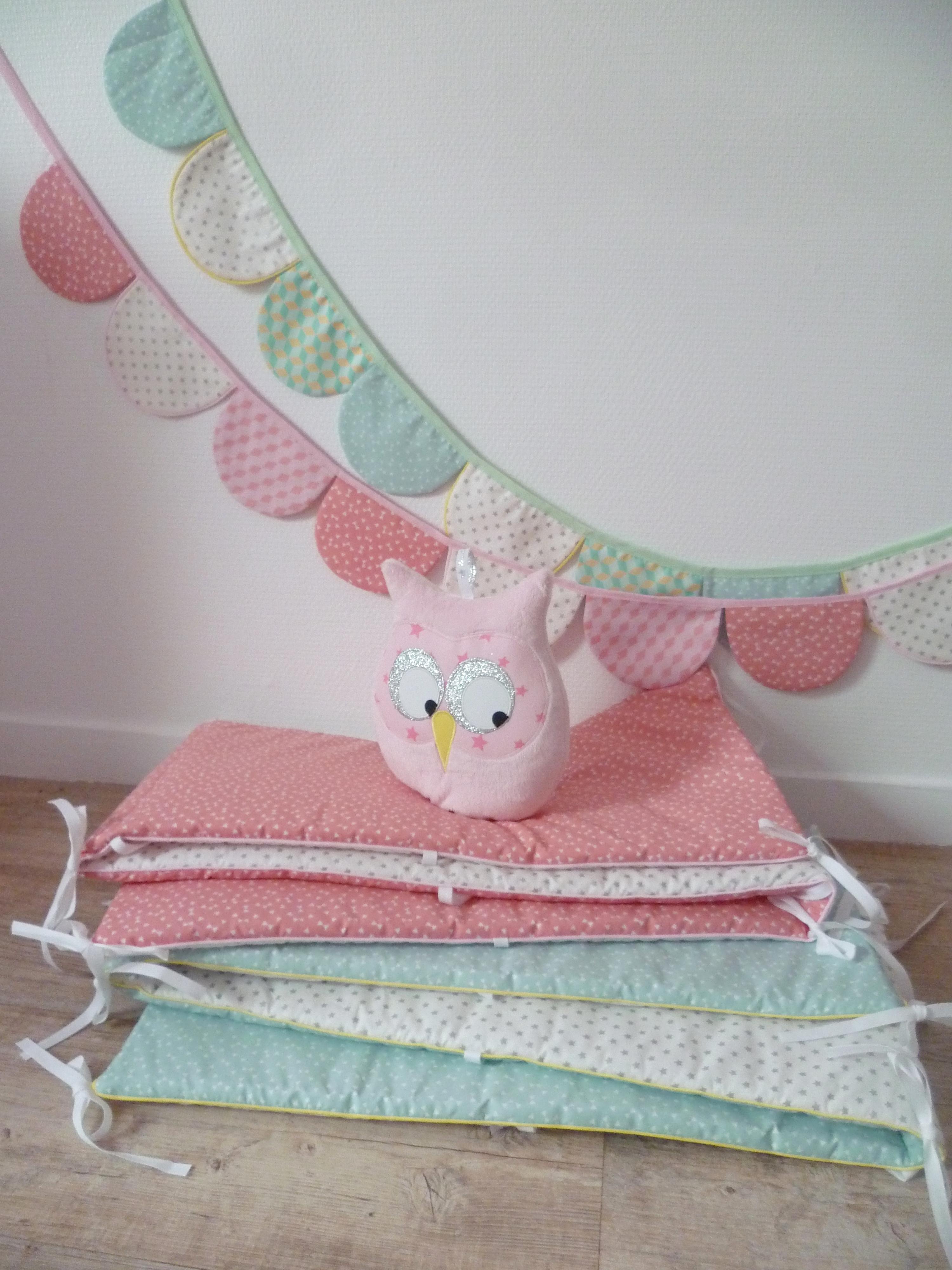 tour de lit et gigoteuse diabolo citron vert guili gribouilli linge de lit et de d co pour. Black Bedroom Furniture Sets. Home Design Ideas