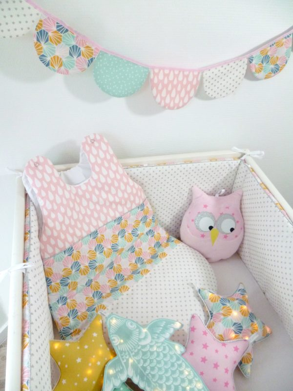 tour de lit et gigoteuse origami