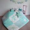 tapis de jeu hibou vert