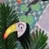 tour de lit jungle toucan