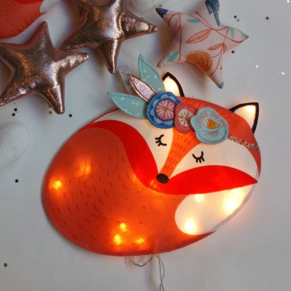 veilleuse renard foxy gatsby