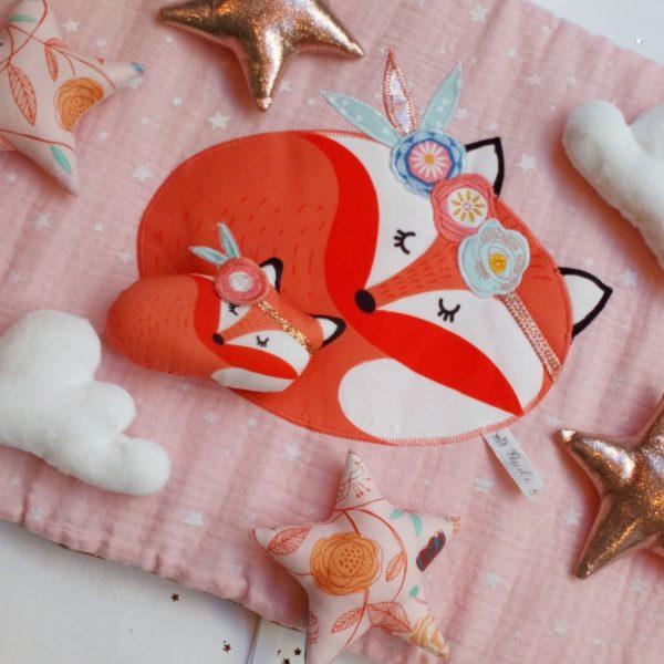 tour de lit renard foxy gatsby