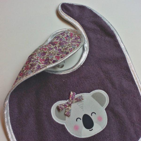 bavoir koala violine