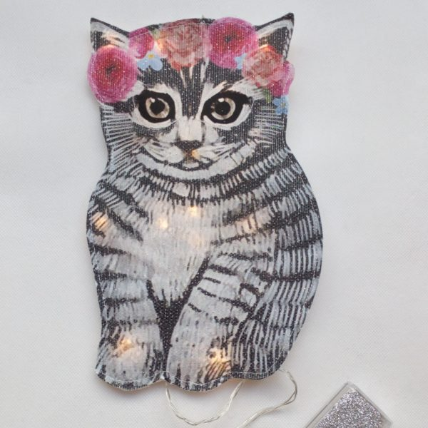 veilleuse chaton